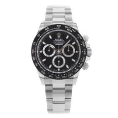 Rolex Daytona 116500LN bk Cosmograph Steel and Ceramic Automatic Men's Watch