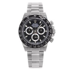 Rolex Daytona 116500LN bk Cosmograph Steel Black Ceramic Automatic Men's Watch