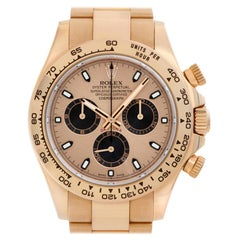 Rolex Daytona 116505, Gold Dial, Certified and Warranty