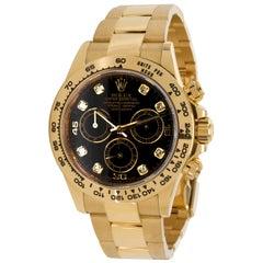 Rolex Daytona 116508 Men's Watch in 18 Karat Yellow Gold