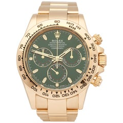Rolex Daytona 116508 Men's Yellow Gold Chronograph Watch