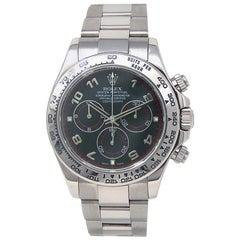 Rolex Daytona 116509, Black Dial, Certified and Warranty