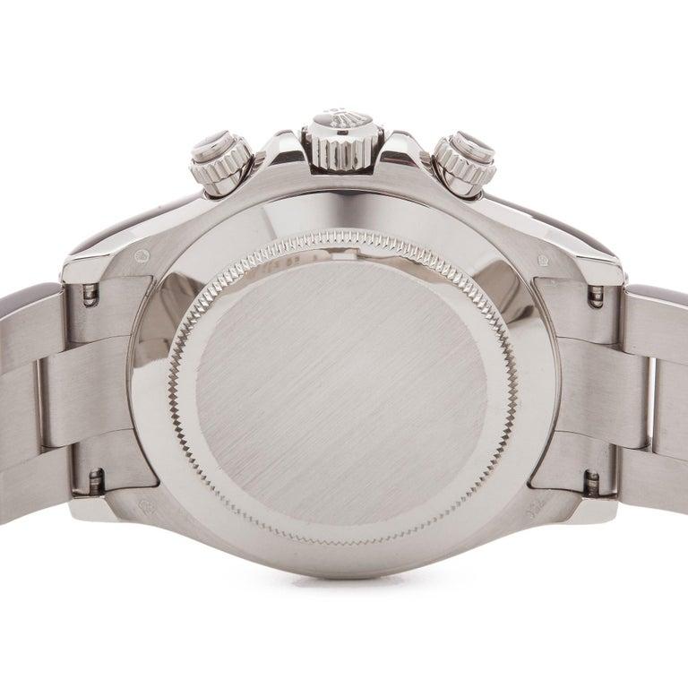 Rolex Daytona 116509 Men's White Gold Chronograph Watch 3