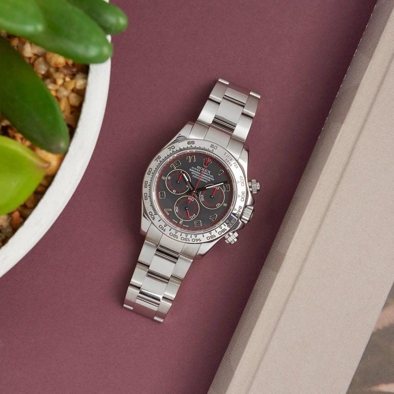 Rolex Daytona 116509 Men's White Gold Chronograph Watch 5