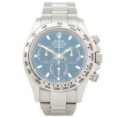 Rolex Daytona 116509 Men's White Gold Chronograph Watch