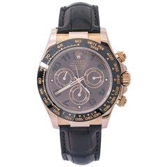 Rolex Daytona 116515LN Ceramic 18K Rose Chocolate with Papers Automatic Watch