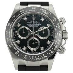 Rolex Daytona 116519, Black Dial, Certified and Warranty