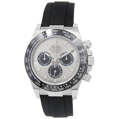 Rolex Daytona 116519, Silver Dial, Certified and Warranty