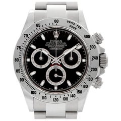 Rolex Daytona 116520, Black Dial, Certified and Warranty