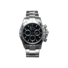 Rolex Daytona 116520 Black Dial Stainless Steel Box and Papers, 2010