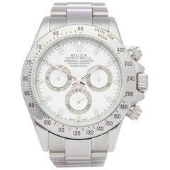 Rolex Daytona 116520 Men's Stainless Steel Chronograph Watch
