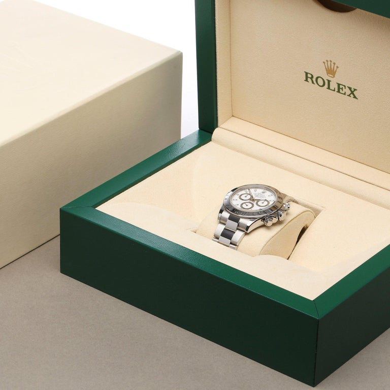 Rolex Daytona 116520 Men's Stainless Steel Cosmograph APH Dial Watch For Sale 6