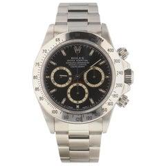 Rolex Daytona 16520, Black Dial, Certified and Warranty