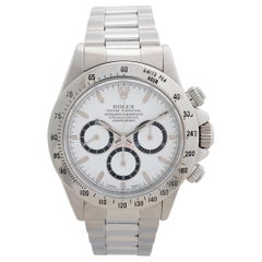 Rolex Daytona 16520 Zenith Inverted Six, Service Papers, Excellent Condition