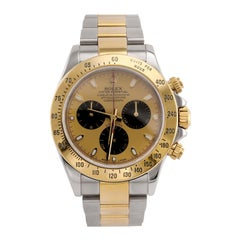 Rolex Daytona 18 Karat Yellow Gold and Stainless Steel '116523'