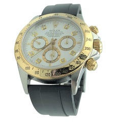 Rolex Daytona 1996 Vintage Stainless and 18 Karat Gold