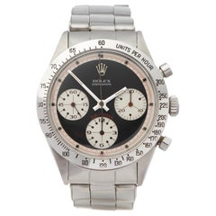 Rolex Daytona 6239 Men's Stainless Steel Paul Newman Cosmograph Early Mark I