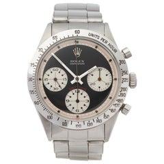 Rolex Daytona 6239 'Paul Newman' Men Stainless Steel Watch