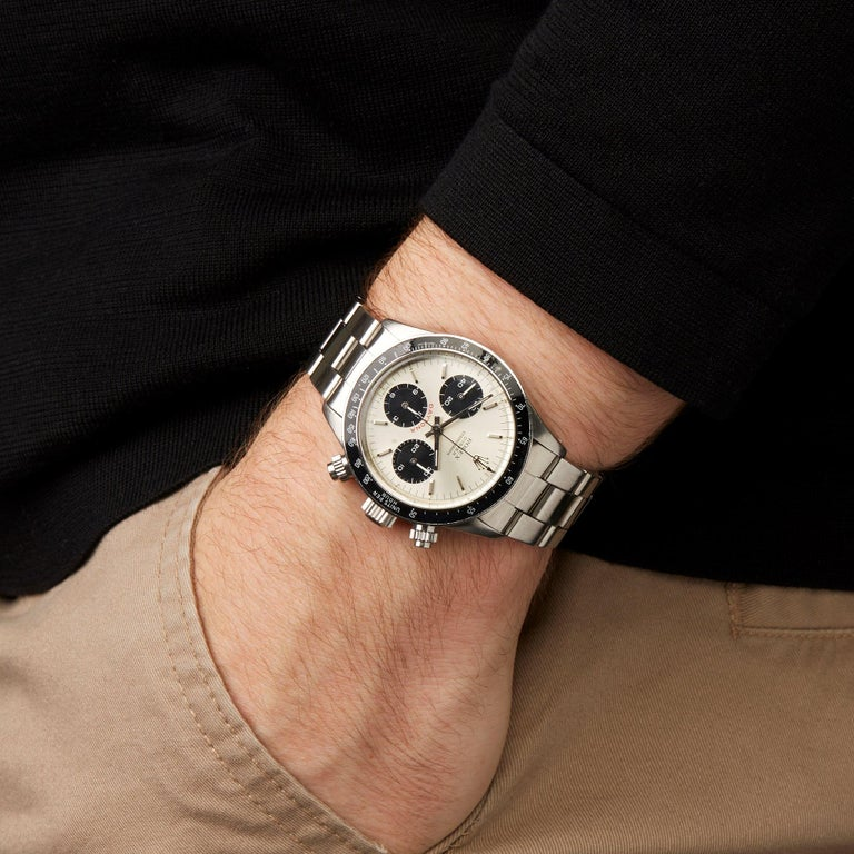 Rolex Daytona 6263 Men's Stainless Steel Watch For Sale 7