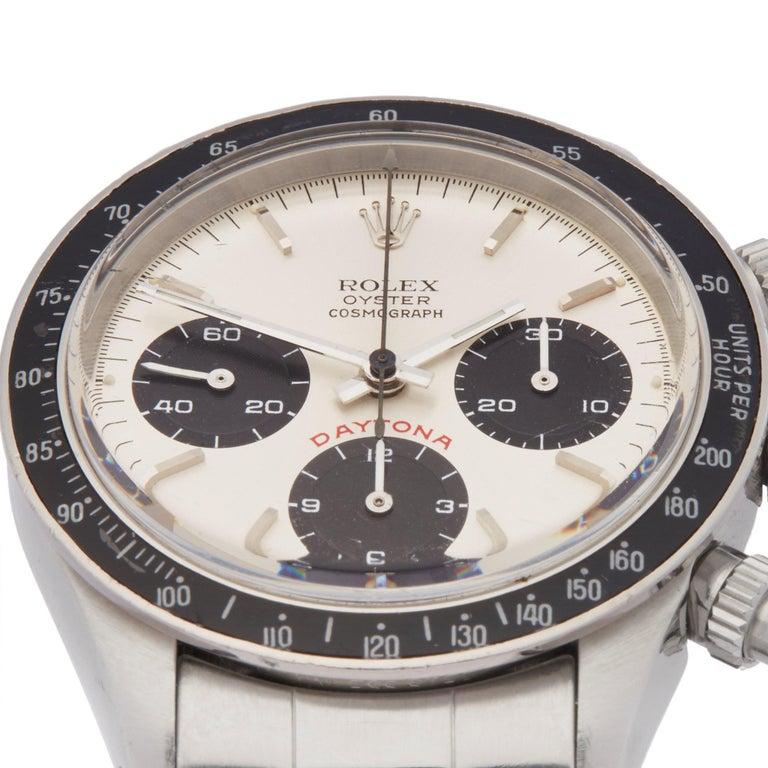 Rolex Daytona 6263 Men's Stainless Steel Watch In Good Condition For Sale In Bishops Stortford, Hertfordshire
