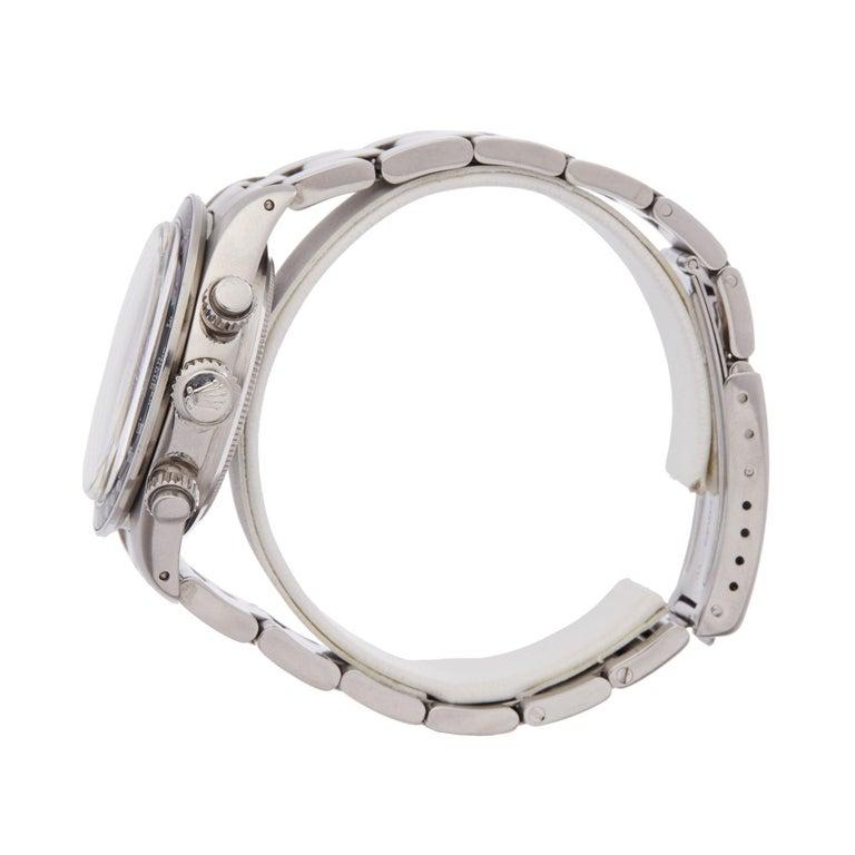 Women's or Men's Rolex Daytona 6263 Men's Stainless Steel Watch For Sale