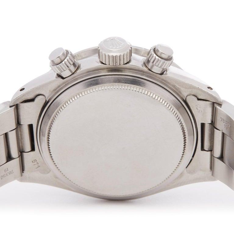 Rolex Daytona 6263 Men's Stainless Steel Watch For Sale 3