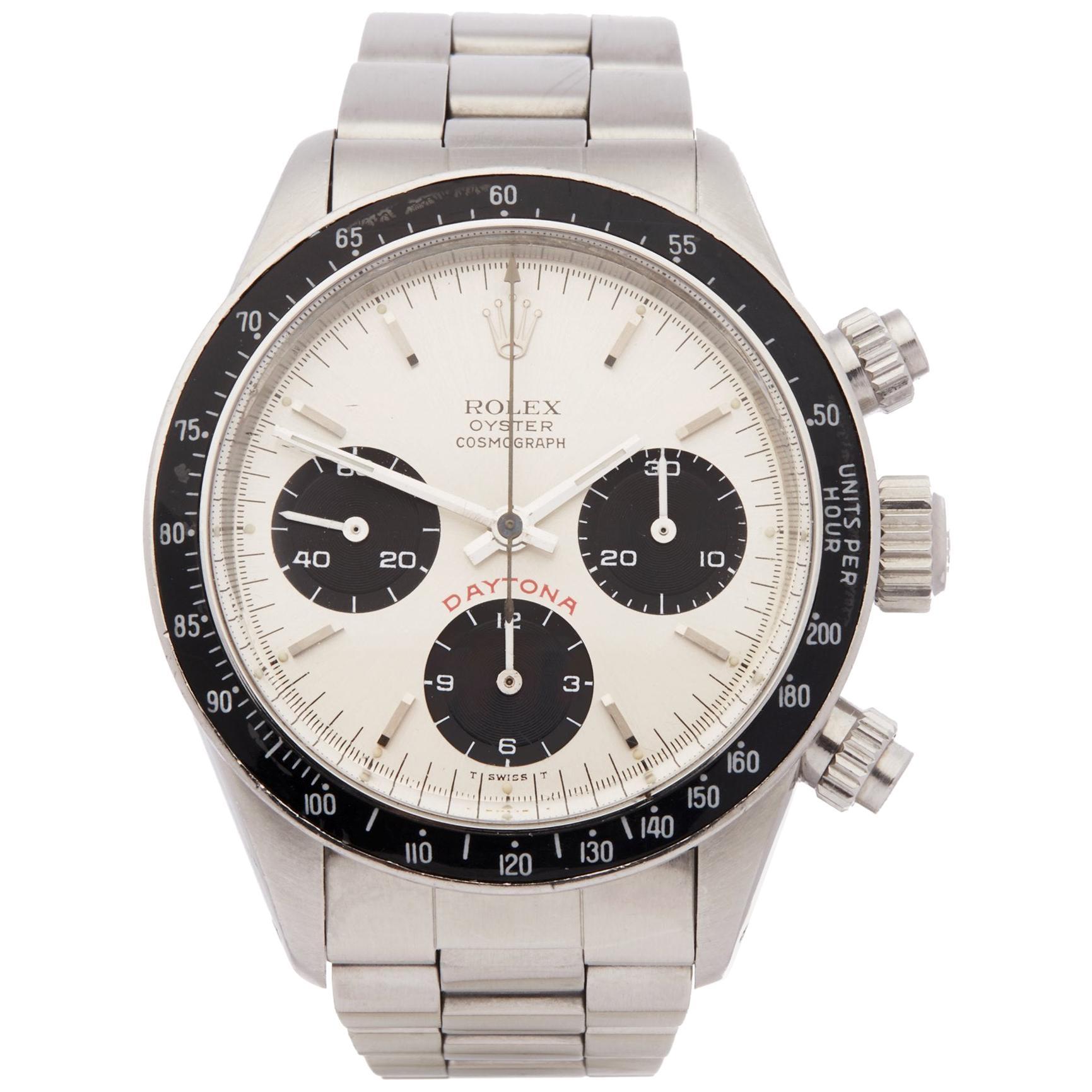 Rolex Daytona 6263 Men's Stainless Steel Watch