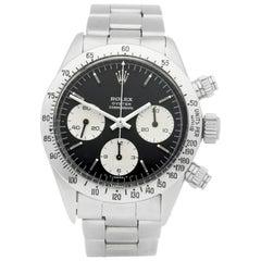Rolex Daytona 6265 Men's Stainless Steel Chronograph Watch