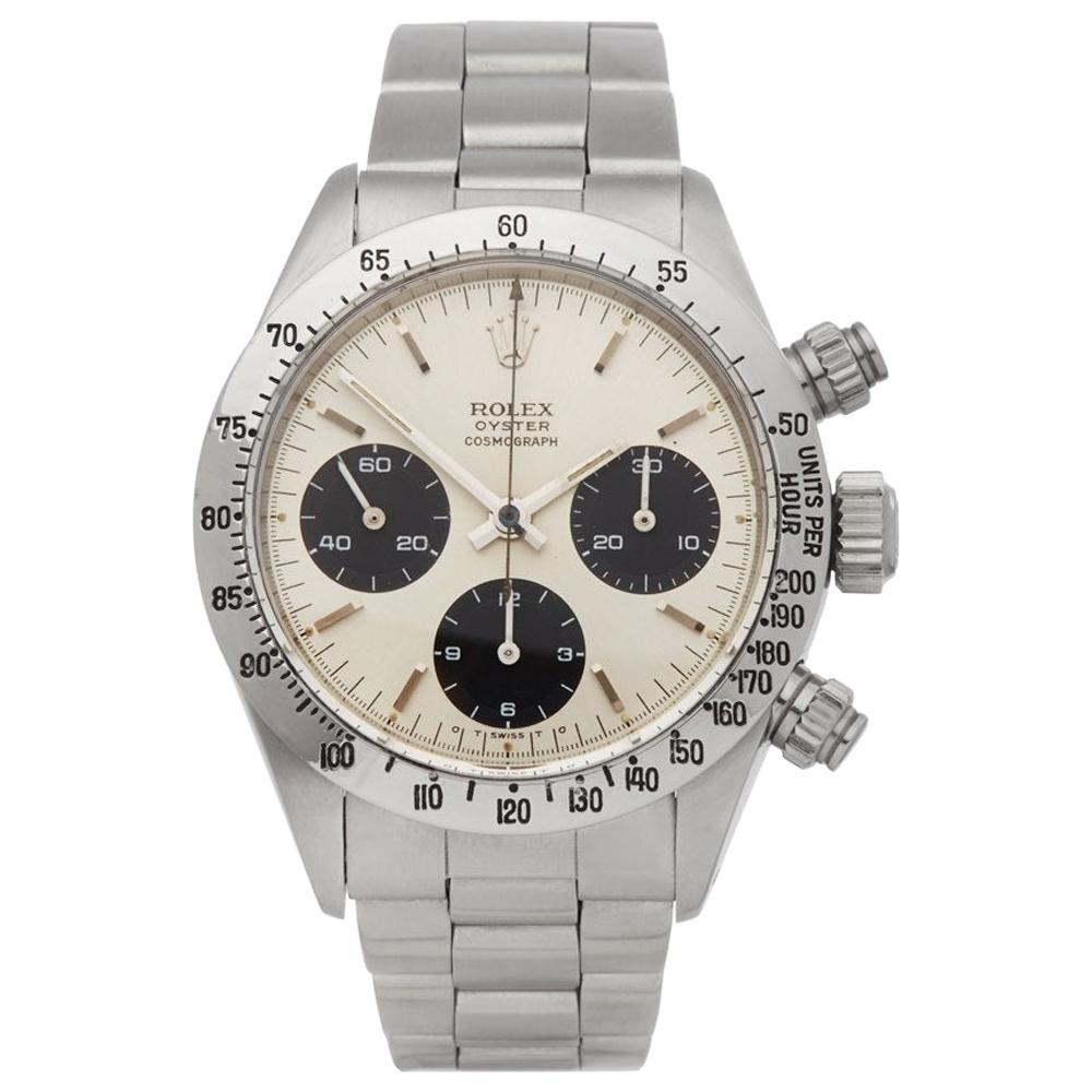 Rolex Daytona 6265 Men's Stainless Steel Cosmograph Watch