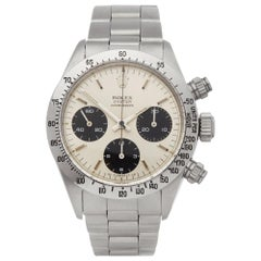 Rolex Daytona 6265 Men's Stainless Steel Cosmograph Watch