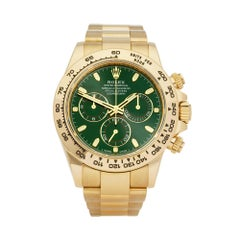 Rolex Daytona Chronograph 18 Karat Yellow Gold 116508