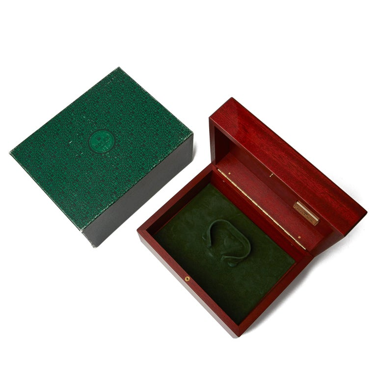 Rolex Daytona Chronograph NOS 18 Karat Yellow Gold 116528 For Sale 3