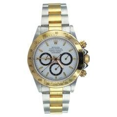 Rolex Daytona Chronograph Oystersteel and 18Kt Yellow Gold Wristwatch