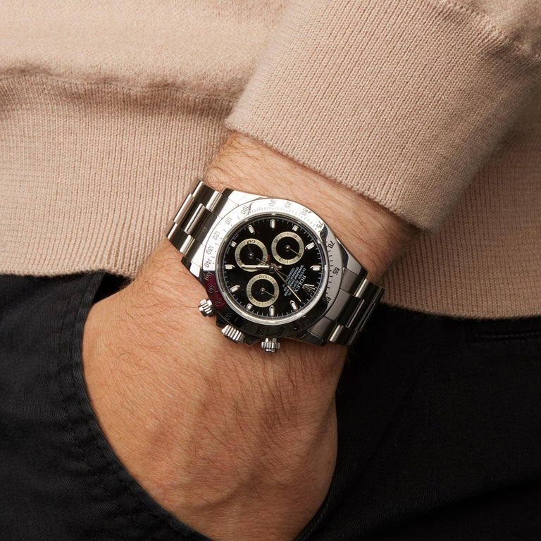 Rolex Daytona Chronograph Stainless Steel 116520 For Sale 4