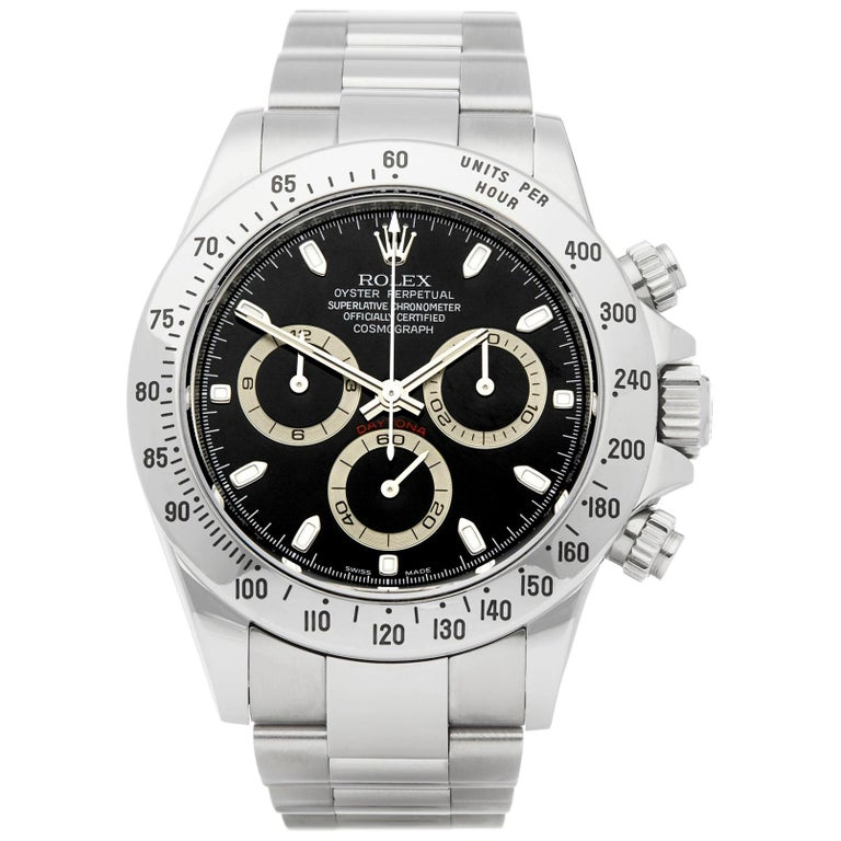 Rolex Daytona Chronograph Stainless Steel 116520 For Sale