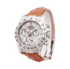 Rolex Daytona Chronograph White Gold 116519 Wristwatch