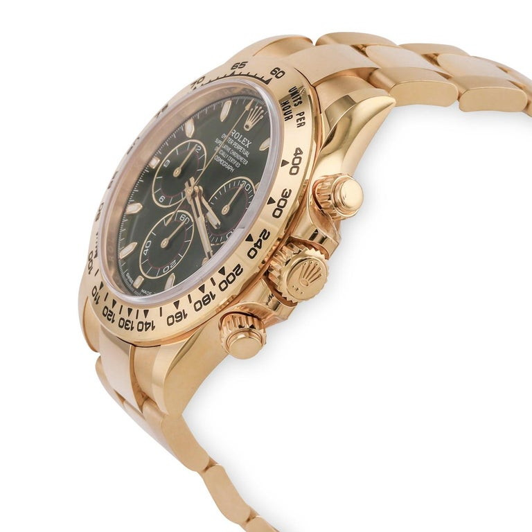 Rolex Daytona Cosmograph Yellow Gold '116508' In Good Condition For Sale In Dallas, TX