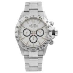 Rolex Daytona Cosmograph Zenith Movement Steel White Dial Watch 16520 A-Series