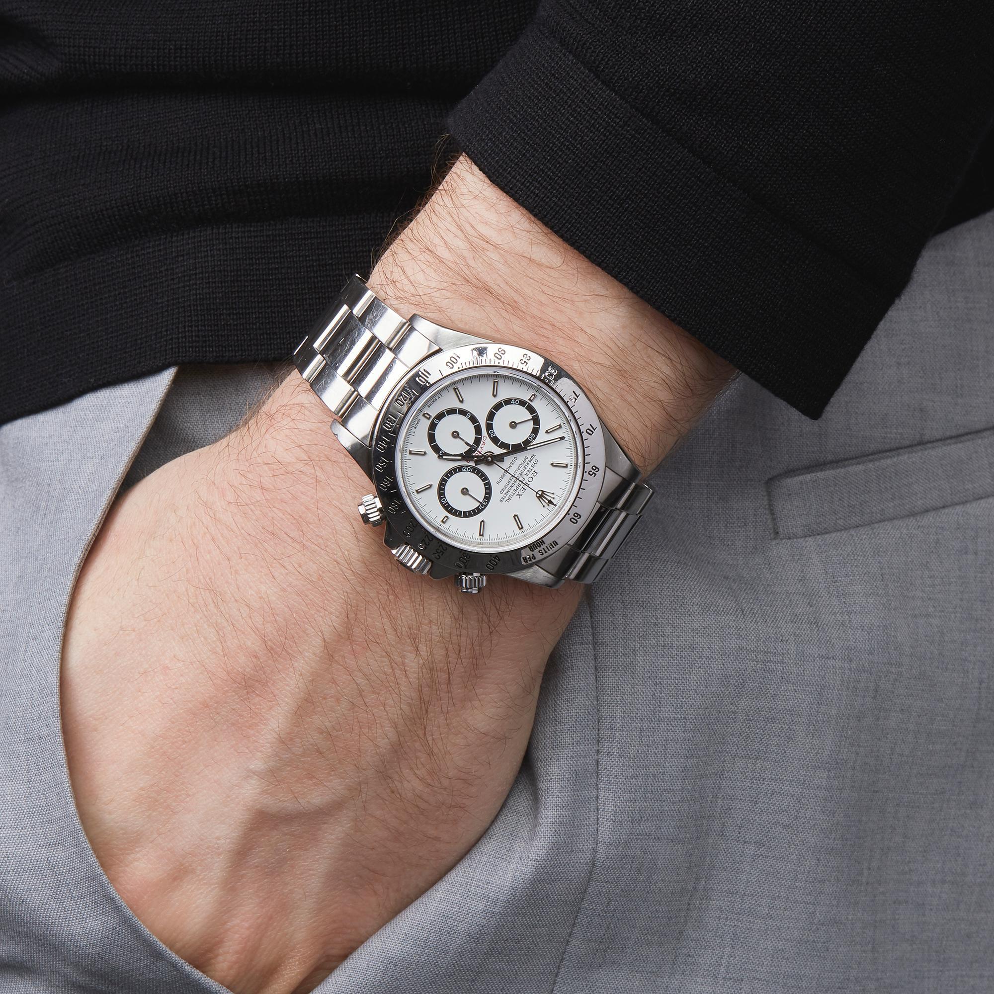 Rolex Daytona Floating Cosmograph Stainless Steel 16520 Wristwatch