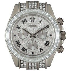 Rolex Daytona Gents White Gold Diamond Set 116599TBR Automatic Wristwatch