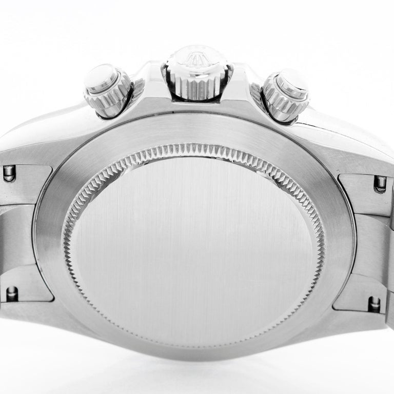 Rolex Daytona Men's Chronograph Watch 116520 In Excellent Condition For Sale In Dallas, TX