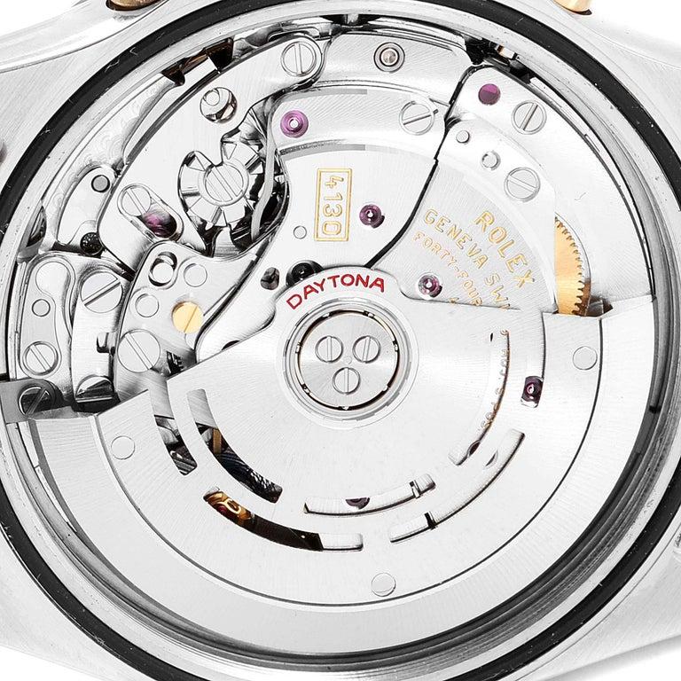Rolex Daytona Paul Newman Dial Steel Yellow Gold Men's Watch 116523 For Sale 3