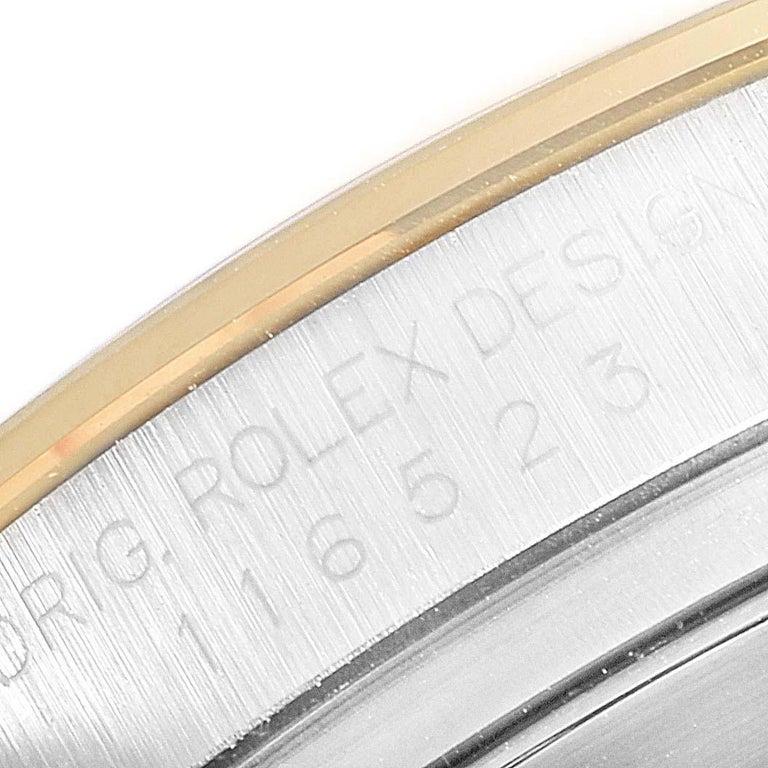 Rolex Daytona Paul Newman Dial Steel Yellow Gold Men's Watch 116523 For Sale 4