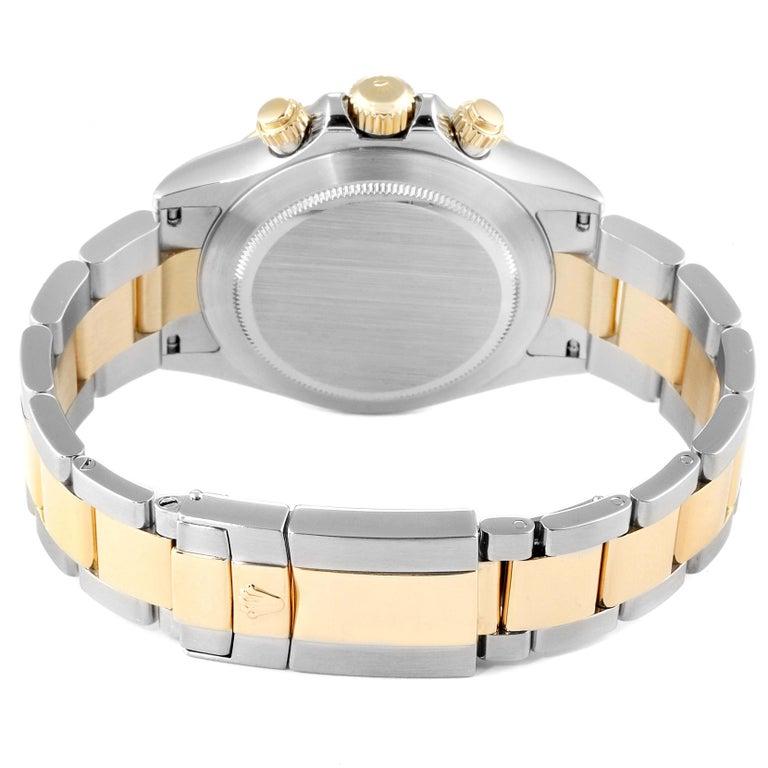 Rolex Daytona Paul Newman Dial Steel Yellow Gold Men's Watch 116523 For Sale 6