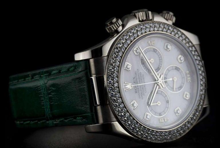 Rolex Daytona Mother Of Pearl Diamond