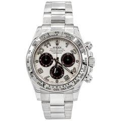 Rolex Daytona Ref 116509 Panda Dial White Gold Chronograph Wristwatch