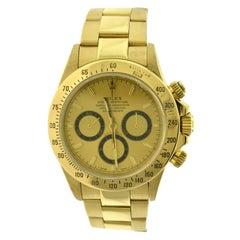 Rolex Daytona Ref. 16528 Chronograph 18 Karat Yellow Gold Watch, 'R-80'