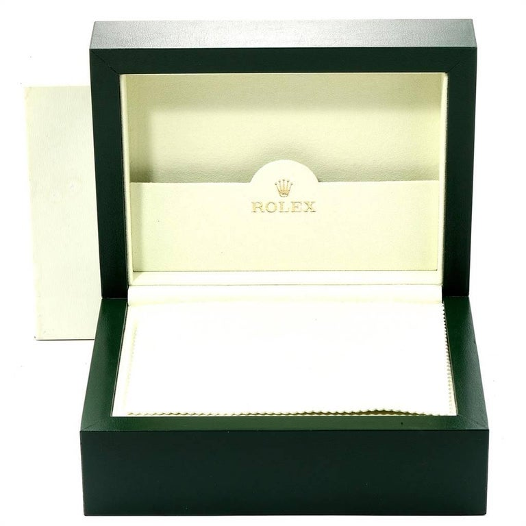 Rolex Daytona Steel Yellow Gold Black Mother of Pearl Dial Chronograph Men's For Sale 8