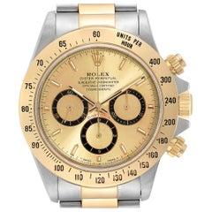 Rolex Daytona Steel Yellow Gold Inverted 6 Chronograph Men's Watch 16523
