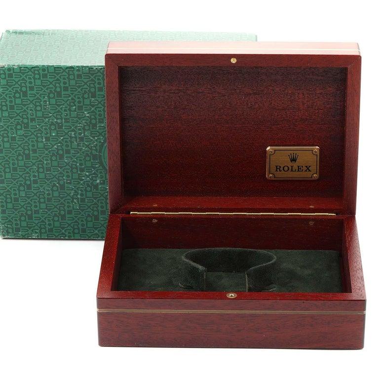 Rolex Daytona Steel Yellow Gold Men's Watch 16523 Box For Sale 8